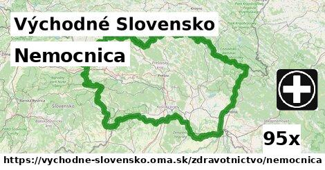 nemocnica v Východné Slovensko