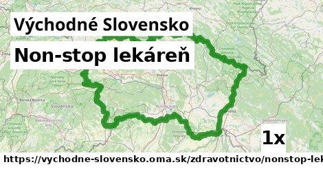 non-stop lekáreň v Východné Slovensko