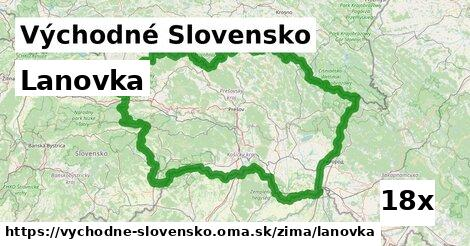 lanovka v Východné Slovensko