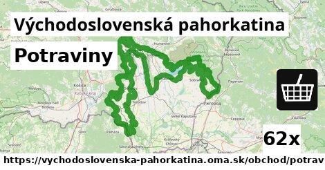 ilustračný obrázok k Potraviny, Východoslovenská pahorkatina