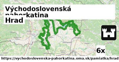 ilustračný obrázok k Hrad, Východoslovenská pahorkatina