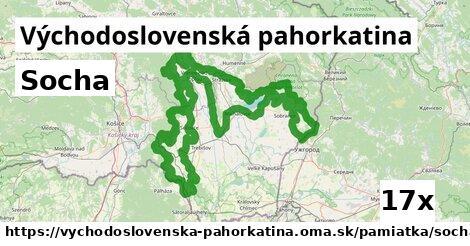 ilustračný obrázok k Socha, Východoslovenská pahorkatina