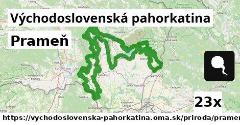 ilustračný obrázok k Prameň, Východoslovenská pahorkatina