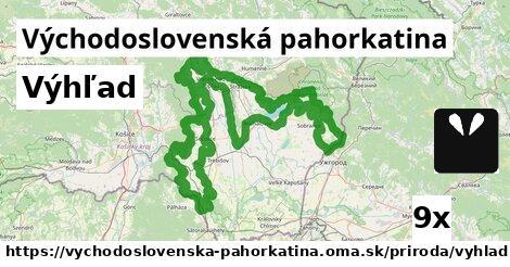 ilustračný obrázok k Výhľad, Východoslovenská pahorkatina