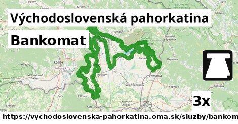 ilustračný obrázok k Bankomat, Východoslovenská pahorkatina