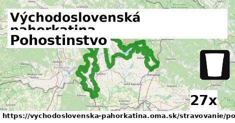 ilustračný obrázok k Pohostinstvo, Východoslovenská pahorkatina
