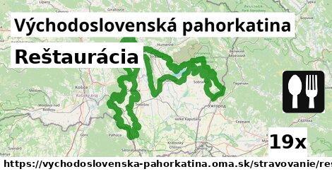 ilustračný obrázok k Reštaurácia, Východoslovenská pahorkatina