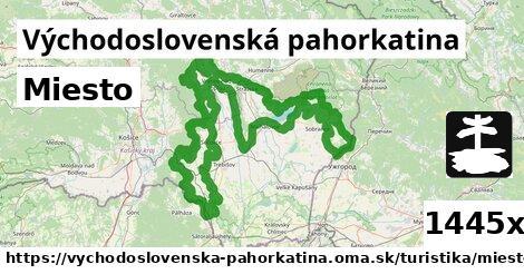ilustračný obrázok k Miesto, Východoslovenská pahorkatina