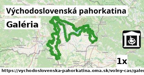 ilustračný obrázok k Galéria, Východoslovenská pahorkatina