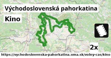 ilustračný obrázok k Kino, Východoslovenská pahorkatina