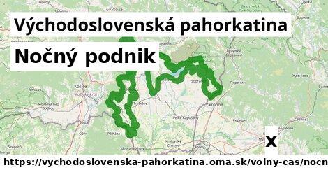 ilustračný obrázok k Nočný podnik, Východoslovenská pahorkatina