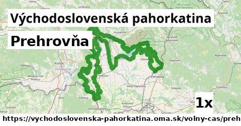 ilustračný obrázok k Prehrovňa, Východoslovenská pahorkatina