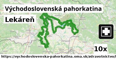 ilustračný obrázok k Lekáreň, Východoslovenská pahorkatina