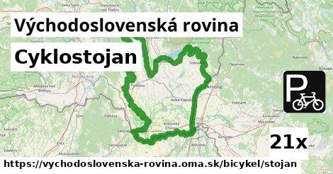 ilustračný obrázok k Cyklostojan, Východoslovenská rovina