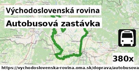 ilustračný obrázok k Autobusová zastávka, Východoslovenská rovina