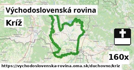 ilustračný obrázok k Kríž, Východoslovenská rovina