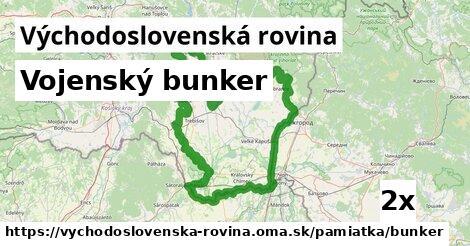 ilustračný obrázok k Vojenský bunker, Východoslovenská rovina