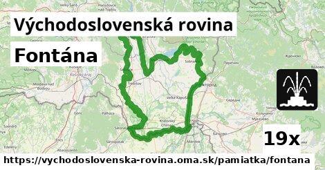 ilustračný obrázok k Fontána, Východoslovenská rovina