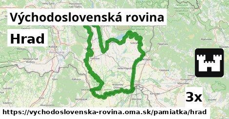 ilustračný obrázok k Hrad, Východoslovenská rovina