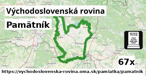 ilustračný obrázok k Pamätník, Východoslovenská rovina