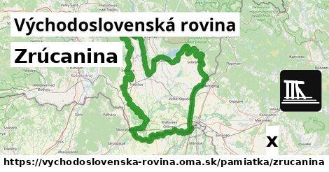 ilustračný obrázok k Zrúcanina, Východoslovenská rovina