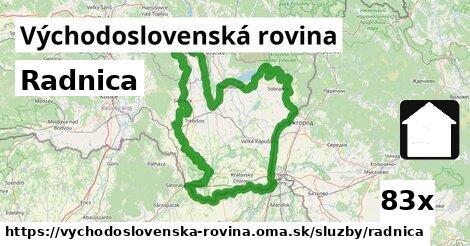 ilustračný obrázok k Radnica, Východoslovenská rovina