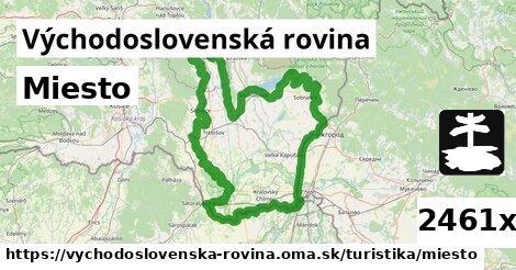 ilustračný obrázok k Miesto, Východoslovenská rovina