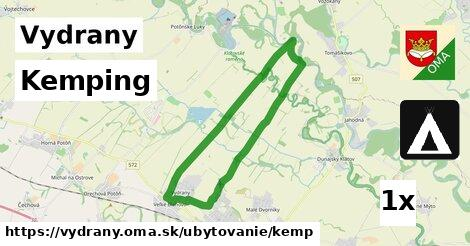 ilustračný obrázok k Kemping, Vydrany