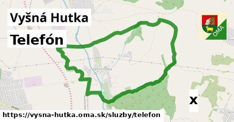 ilustračný obrázok k Telefón, Vyšná Hutka