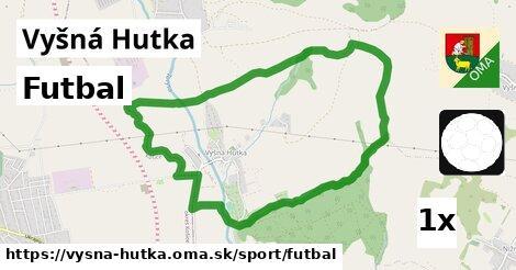 ilustračný obrázok k Futbal, Vyšná Hutka