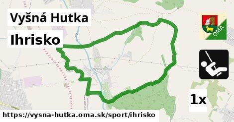 ilustračný obrázok k Ihrisko, Vyšná Hutka