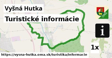 ilustračný obrázok k Turistické informácie, Vyšná Hutka