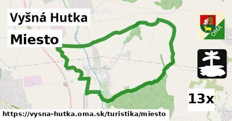 ilustračný obrázok k Miesto, Vyšná Hutka