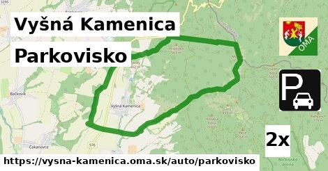 ilustračný obrázok k Parkovisko, Vyšná Kamenica