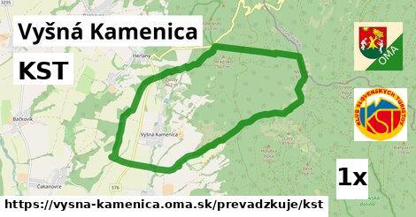 ilustračný obrázok k KST, Vyšná Kamenica