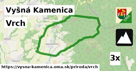 ilustračný obrázok k Vrch, Vyšná Kamenica