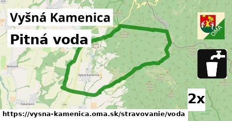 ilustračný obrázok k Pitná voda, Vyšná Kamenica