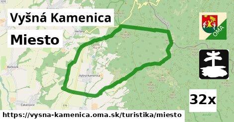 ilustračný obrázok k Miesto, Vyšná Kamenica