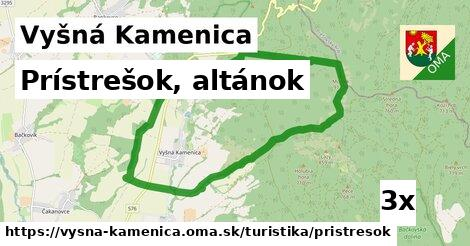 ilustračný obrázok k Prístrešok, altánok, Vyšná Kamenica
