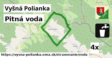 ilustračný obrázok k Pitná voda, Vyšná Polianka