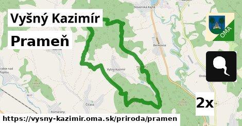 ilustračný obrázok k Prameň, Vyšný Kazimír