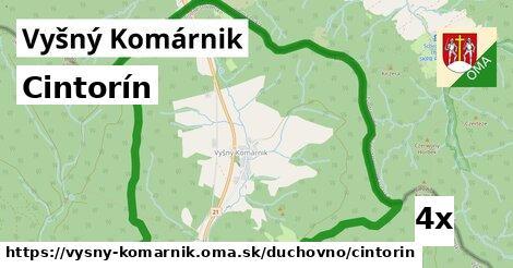 ilustračný obrázok k Cintorín, Vyšný Komárnik
