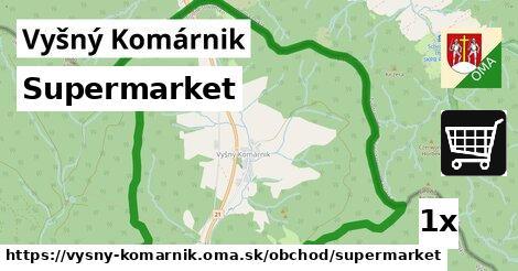 ilustračný obrázok k Supermarket, Vyšný Komárnik