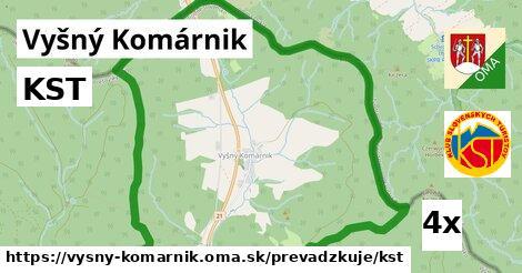 ilustračný obrázok k KST, Vyšný Komárnik