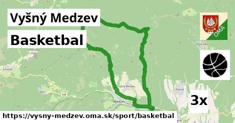 basketbal v Vyšný Medzev