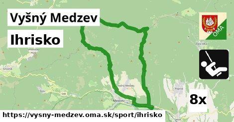 ihrisko v Vyšný Medzev