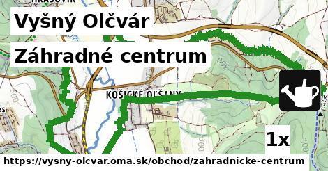 záhradné centrum v Vyšný Olčvár