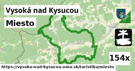 miesto v Vysoká nad Kysucou