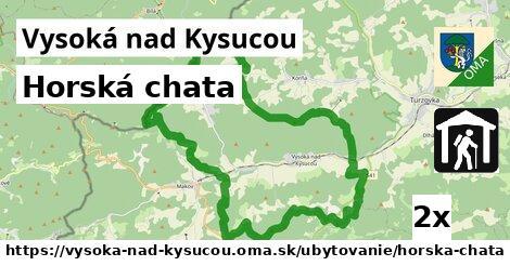 horská chata v Vysoká nad Kysucou