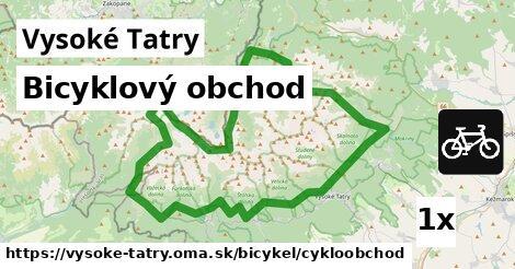 bicyklový obchod v Vysoké Tatry